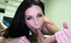 horny milf makes step son show his throbbing cock