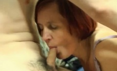 russian granny get anal