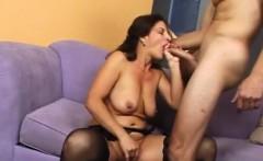 Brunette Cougar Wants Cock NOW