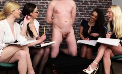 Man Handcuffed And Gagged By Four Girls