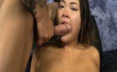 Gigi Skye mouth hammered by cocks
