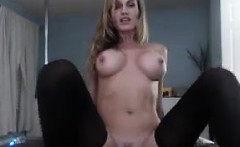 Hot Cam Chick With A Toy