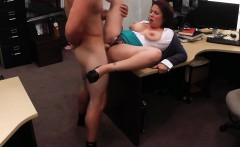 Big tits amateur wife sucks off and gets banged by pawn guy