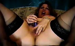 Chubby Mother Masturbates