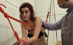 To much of rope and extreme BDSM submissive coitus
