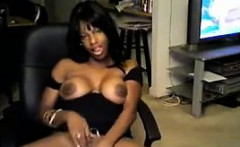 Sexy Ebony Webcam Slut