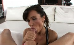 Busty MILF Lisa Ann gets her asshole slammed by big dick
