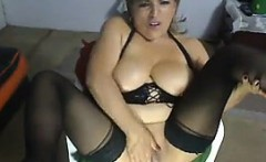 Thick Latin Mother Masturbates