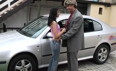 Amateur Teen Couple Web Michelle Romped On The Hood Of A Car