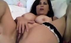 Busty Cam Chick Masturbates