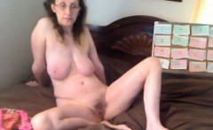 Horny Old Woman With A Wand