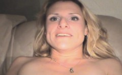 Dirty Blonde Crack Whore Getting Banged Point Of View