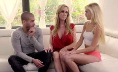 Petite blonde spinner Alex Grey gets it on with her stepmom