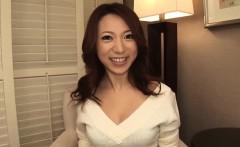 Subtitles - Japanese girl Kanako Tsuchiyo sucks the dick