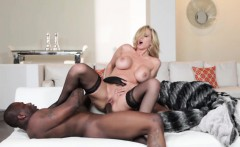 BBC loving mature beauty creamed on pussy