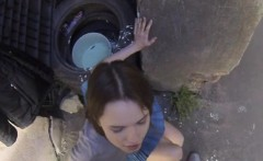 Chick Ruslana Gets Nailed And Cum Sprayed