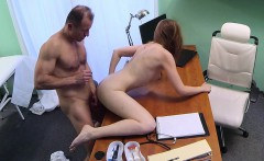 Euro amateur sucks and fucks her doctor
