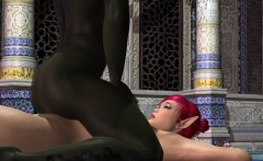Sexy 3D Elf Gets Her Tits and Pussy Fucked