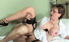 Unfaithful british mature lady sonia pops out her large boob
