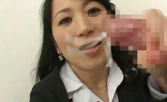Natsumi kitahara rimming some guy