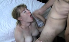jerking off and cumming on her face that is pretty