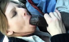 Eager Mature eating a big black cock
