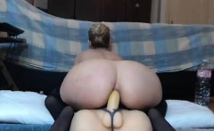 Cute Babe Fucking Toy on Webcam