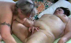 Two grannies can't resist each other