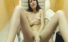 Horny Slim Babe Fingering Her Wet Pussy