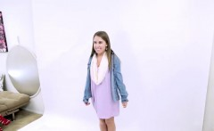 TEEN MODEL 19 IS TRICKED INTO LESBIAN AUDITION CASTING