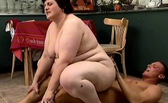 Chubby brunette wife Carol is in need of a hard stick filling her twat