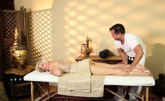 very tricky spa of pleasing masseur