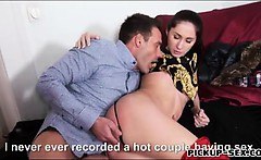 Czech babe Aruna Aghora fucked in exchange for money