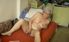 OmaPass Gray haired granny enjoying life
