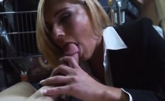 sexy shemale self facial hot milf banged at the pawnshop