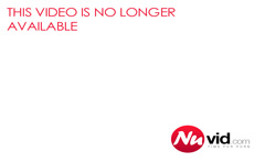 Busty brunette MILF strokes her horny pussy through her pan