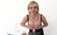 Unfaithful uk milf lady sonia showcases her monster knockers