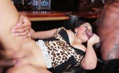 Cougar Mercedes Carrera Loves Black Cocks Around Her
