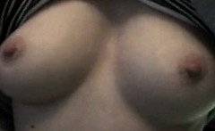 Shy women nice breasts - very first time