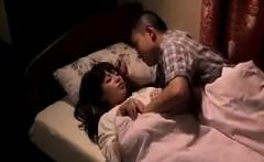 Nerdy Oriental girl seduces an older man to satisfy her sex