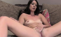 Brunette Brit deep throats agents cock in casting