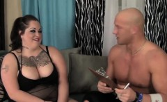 Goth bbw fat chick riding and sucking long dong