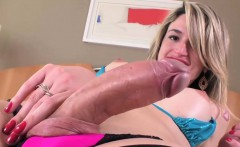 Ultra femme transgirl Nanda Molinari toys ass and jerks off