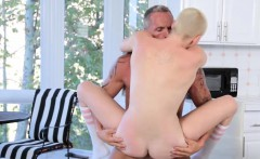 Bad Daddy screwing Riley Nixons sweet pussy