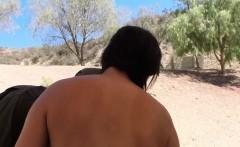 Latina outdoor fucking