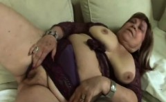 Granny Fat Pounding With Young Dong On Couch