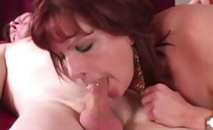 Mature Angie does porn for money