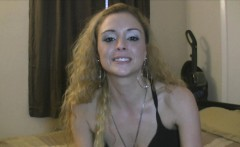 Petite Blonde Party Whore Double Dicked in HD