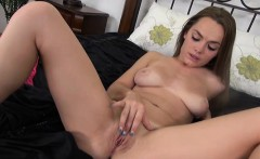monica rise playing with her tight pink pussy!