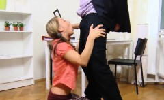 fervid schoolgirl is tempted and drilled by her senior tutor